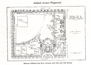 Ashland Ave Playground Design Plan